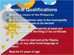 general qualifications1
