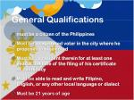 general qualifications2