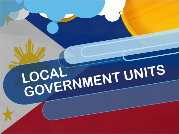 Local government units