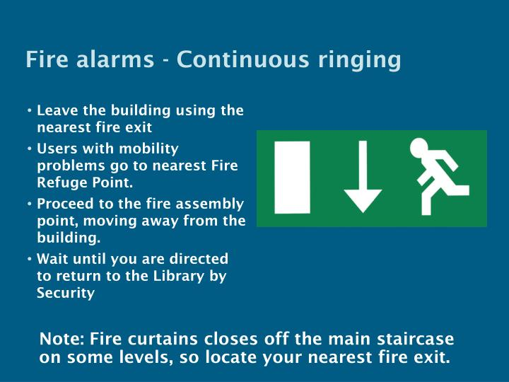 Fire alarms -