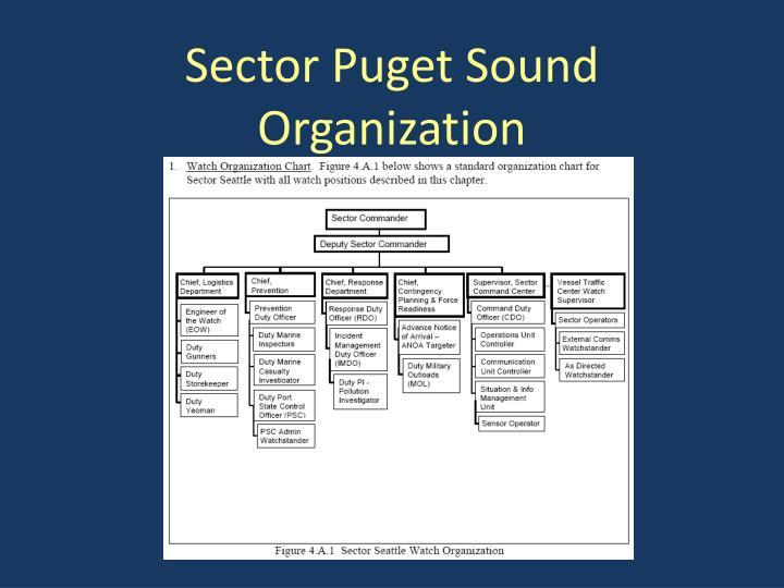 Sector Puget Sound Organization