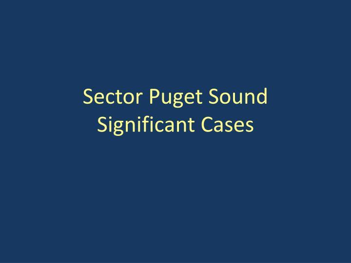 Sector Puget Sound