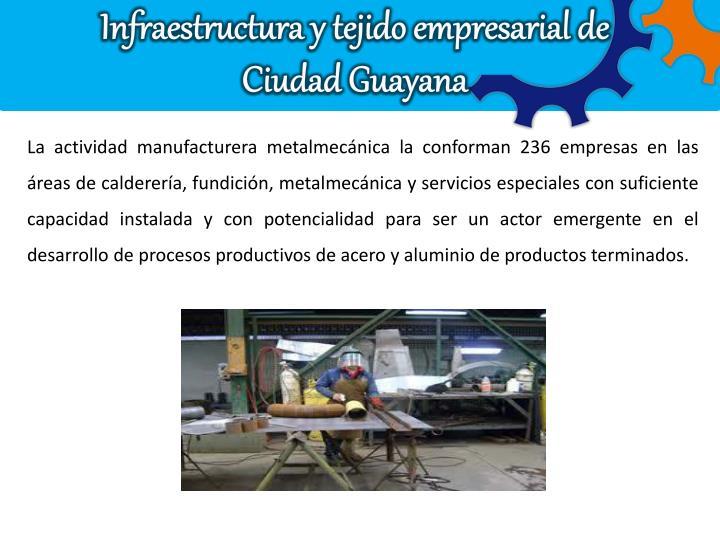 Infraestructura y tejido empresarial de