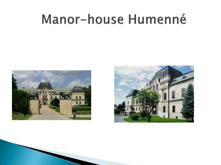 Manor-house