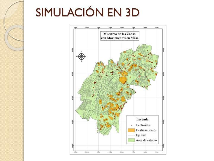 SIMULACIÓN EN 3D