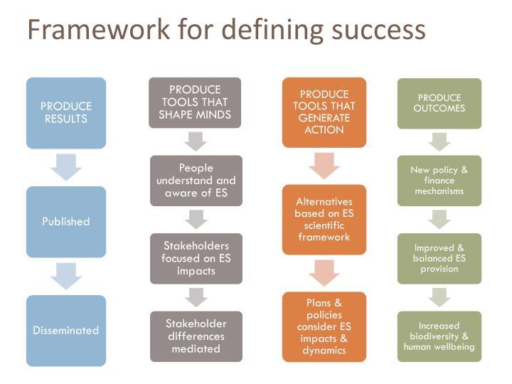 Framework for defining success