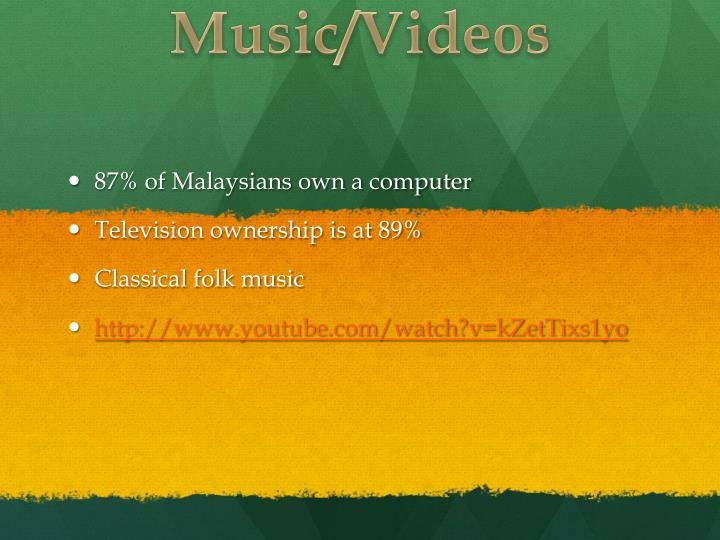 Music/Videos