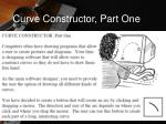 curve constructor part one