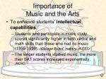 importance of music and the arts1