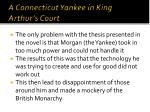 a connecticut yankee in king arthur s court