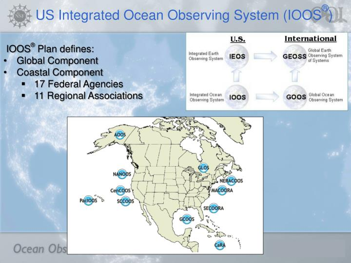 US Integrated Ocean Observing System (IOOS