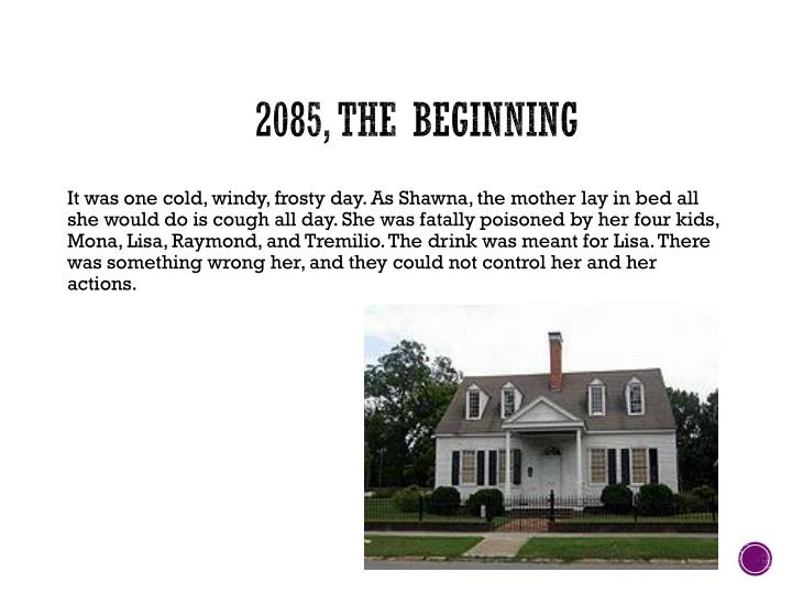 2085, The Beginning