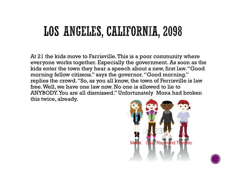 Los Angeles, California, 2098