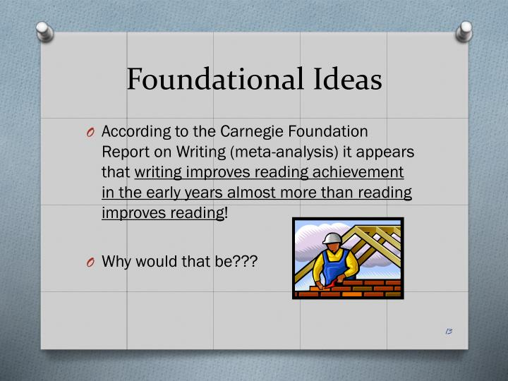 Foundational Ideas