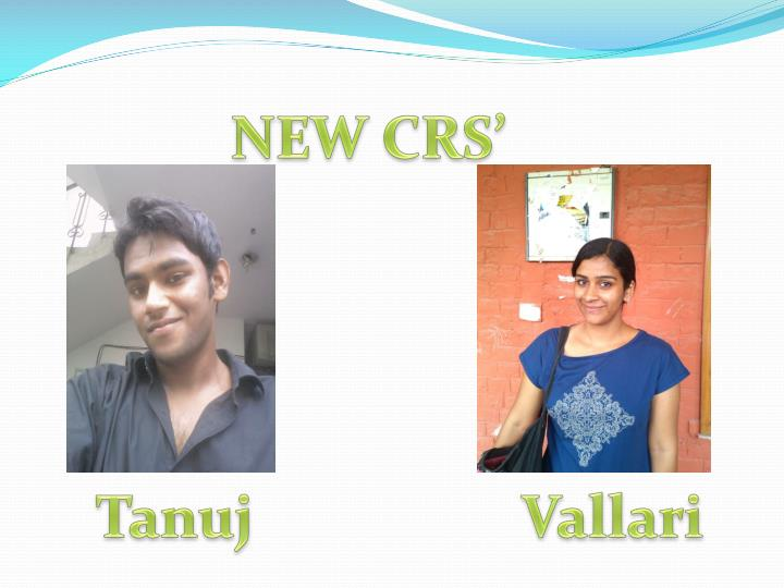 NEW CRS'