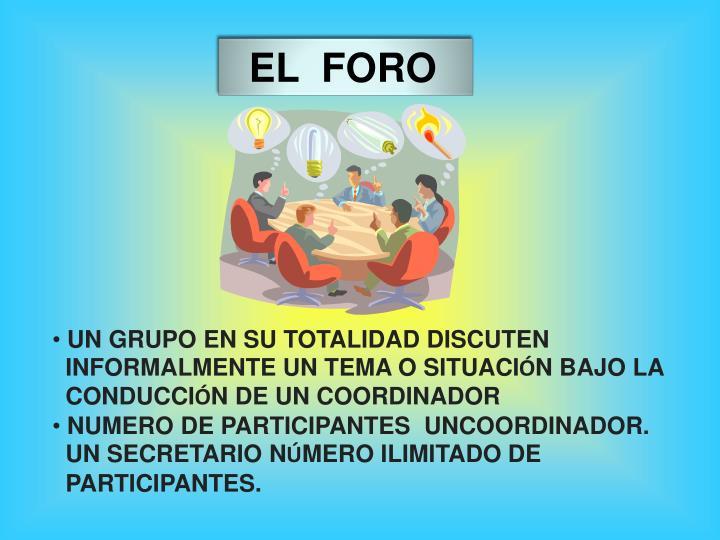 EL  FORO
