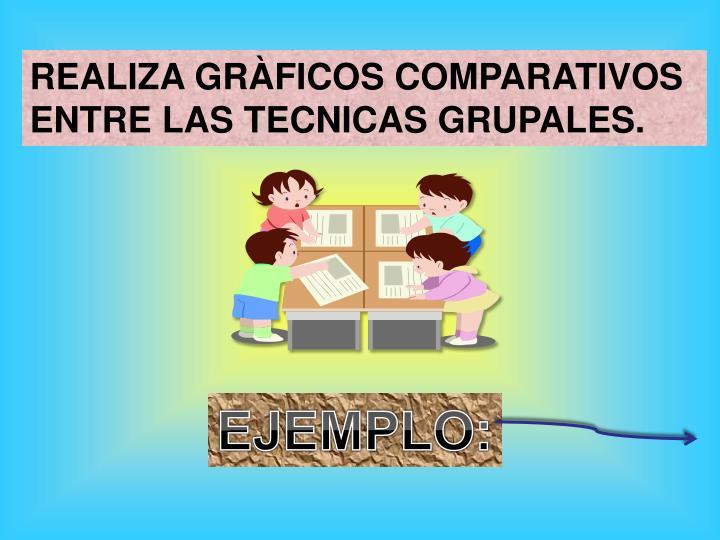 REALIZA GRÀFICOS COMPARATIVOS