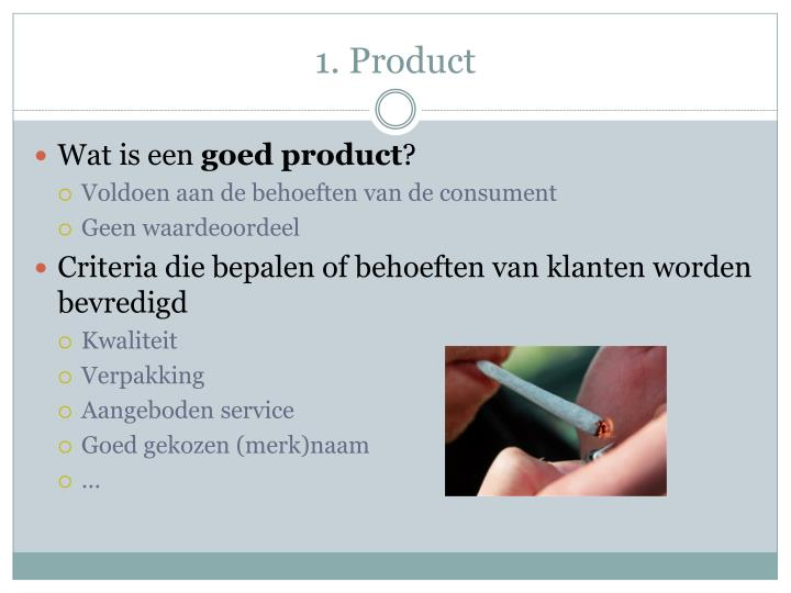 1. Product