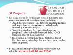 isf programs
