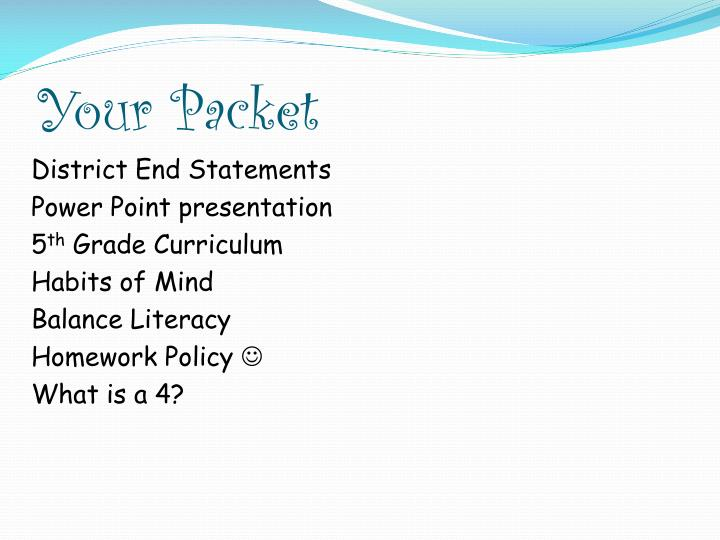 Your Packet