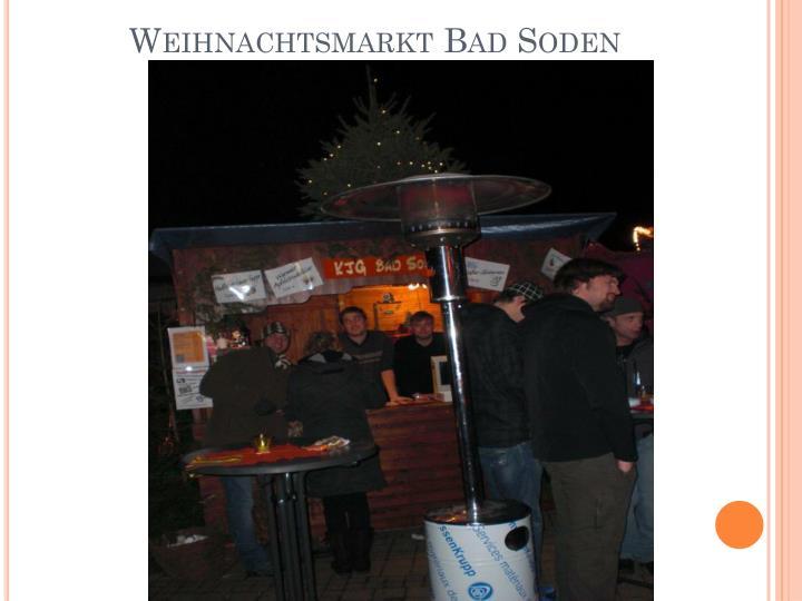 Weihnachtsmarkt Bad Soden