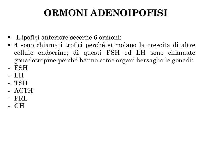 ORMONI ADENOIPOFISI
