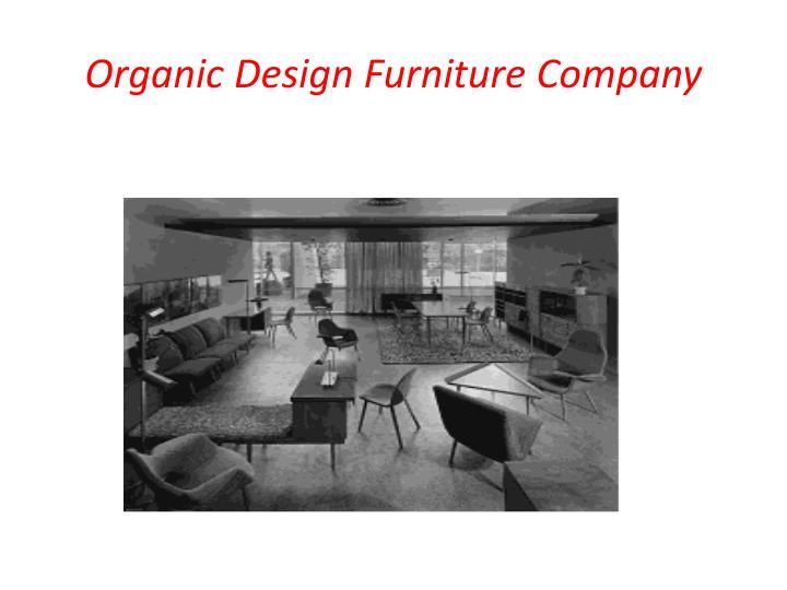 Organic Design Furniture Company