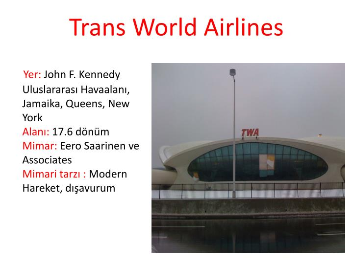 Trans World Airlines
