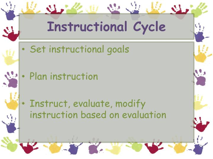 Instructional Cycle
