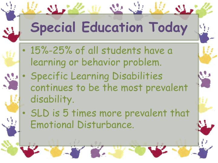 Special Education Today