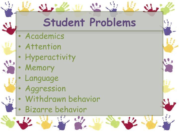 Student Problems