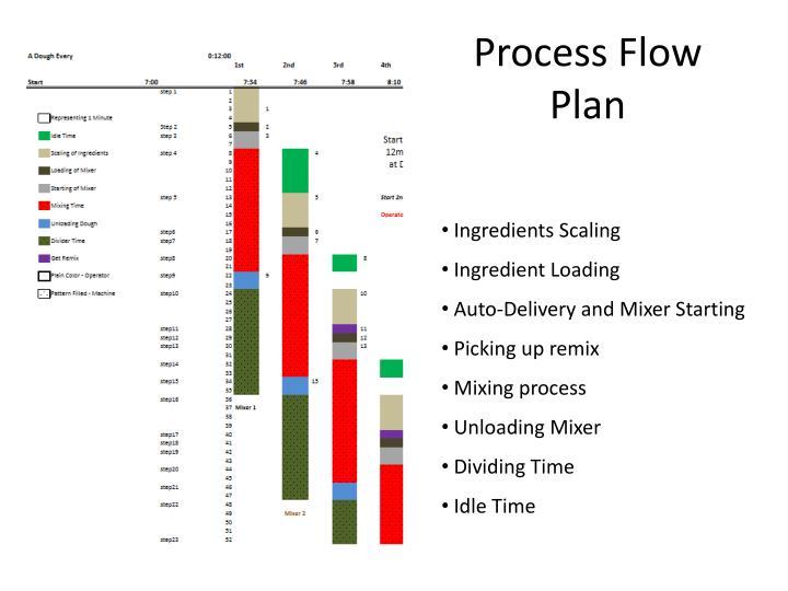 Process Flow Plan