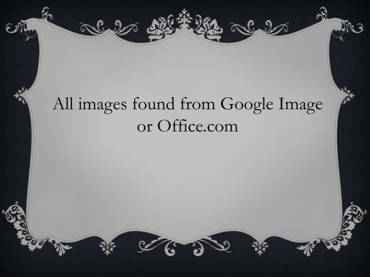 All images found from Google Image