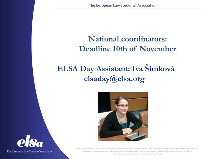 The European Law Students' Association