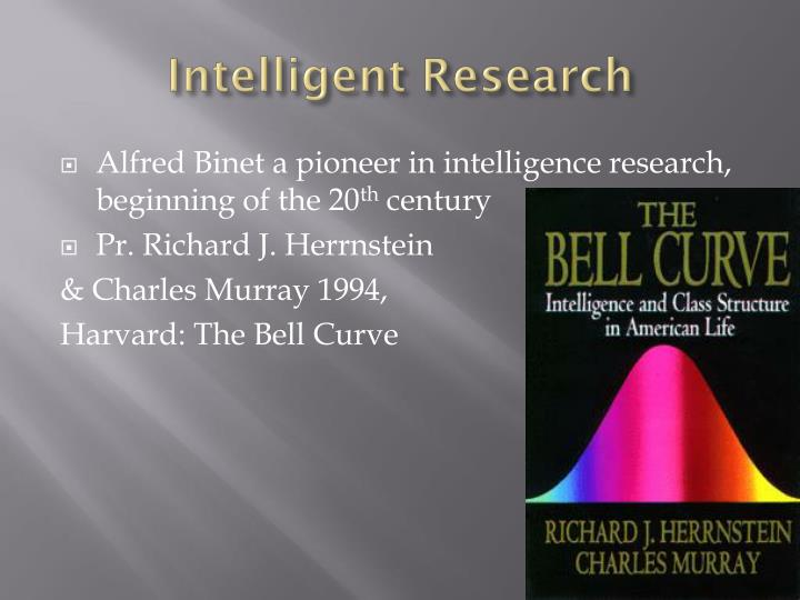Intelligent Research