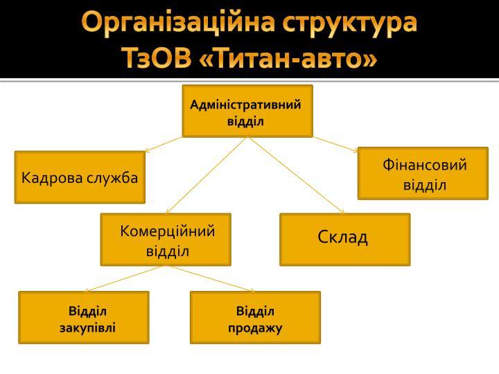 Організаційна