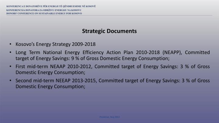 Strategic Documents