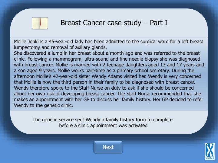 Breast Cancer case