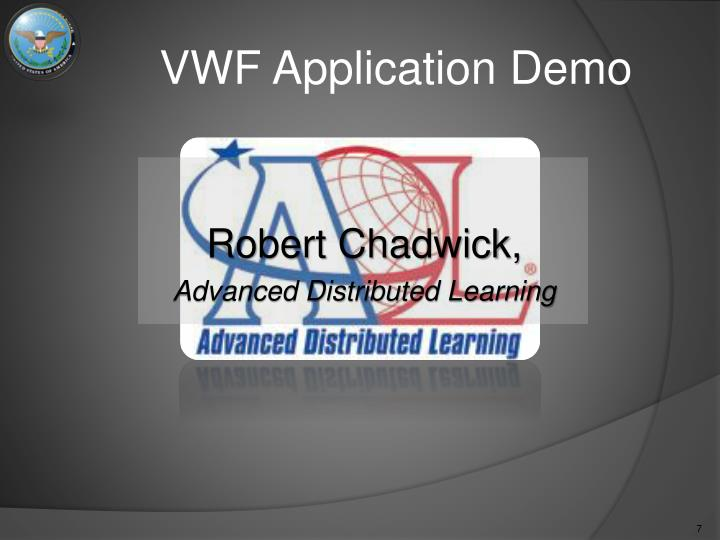 VWF Application Demo