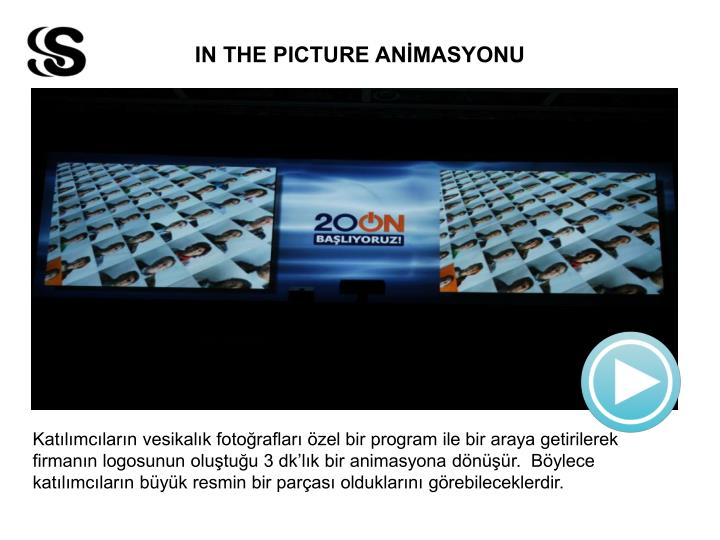 IN THE PICTURE ANİMASYONU