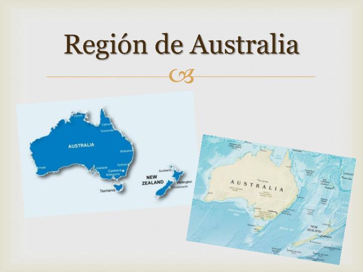 Región de Australia