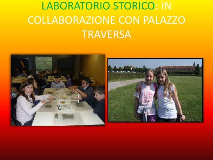 LABORATORIO STORICO