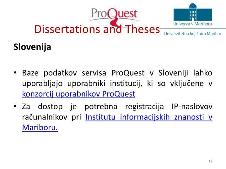 Dissertations