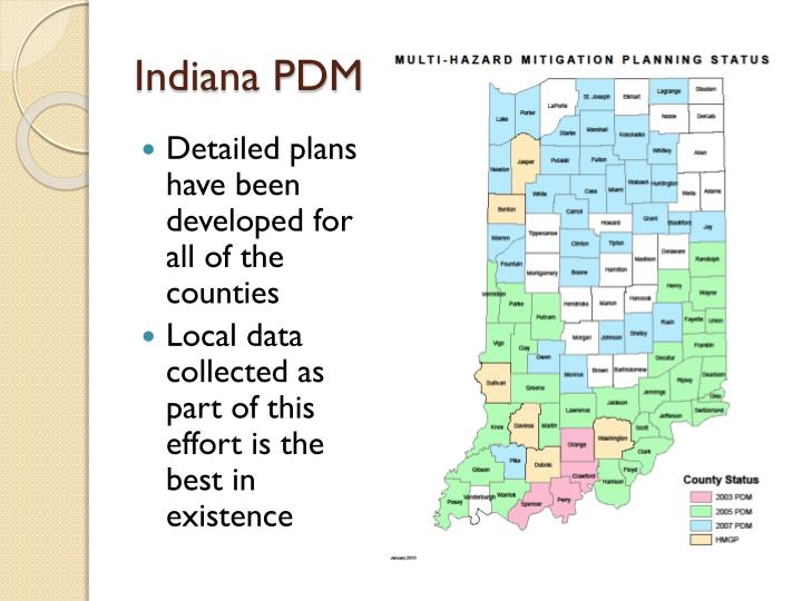 Indiana PDM