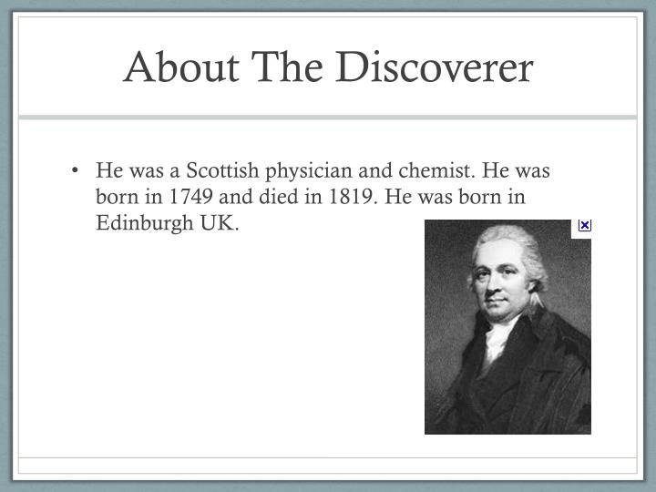 About The Discoverer