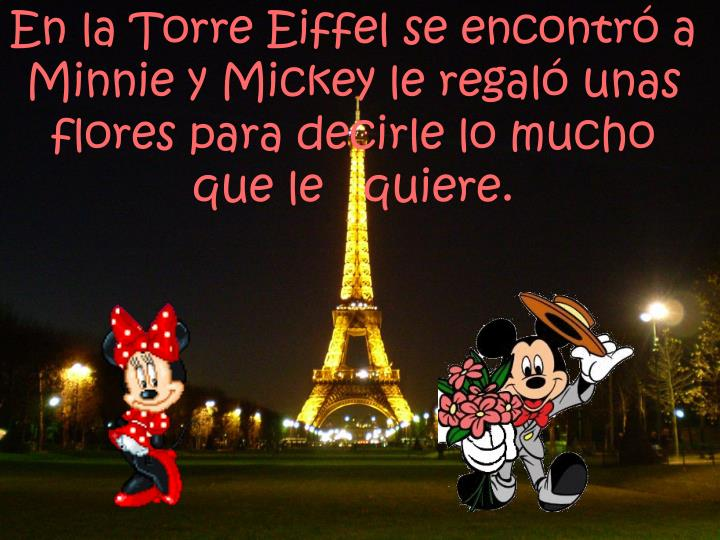 En la Torre Eiffel se encontró a