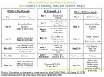 materials pickup and return schedule eog grades 3 8 reading math and science beige