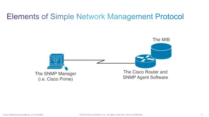 Elements of Simple Network Management Protocol