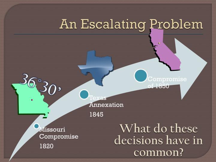 An Escalating Problem