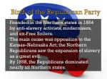 birth of the republican party